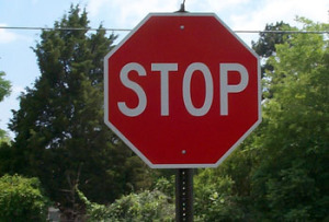 Stop Sign Ticket
